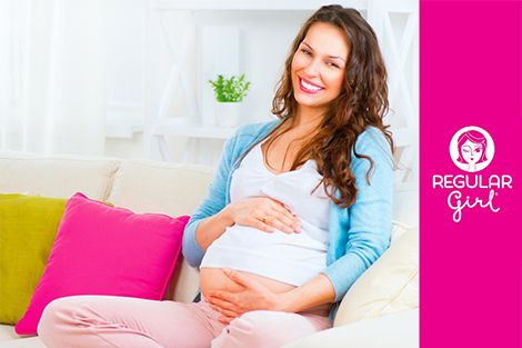 Here's help for when that baby bump leads to aggravating constipation - Regular Girl